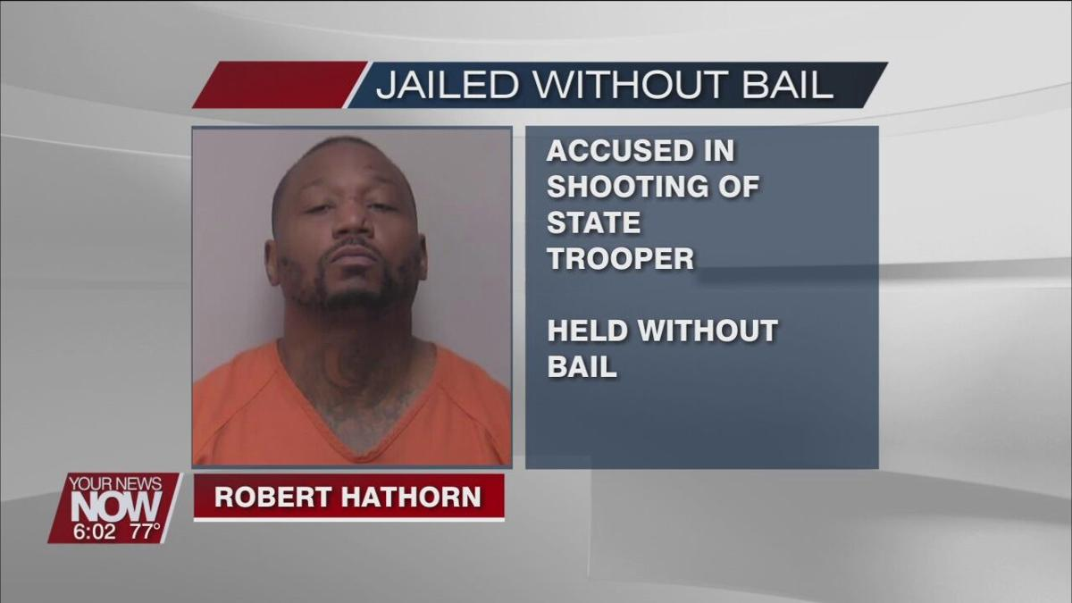 Man accused of shooting trooper to be held without bail