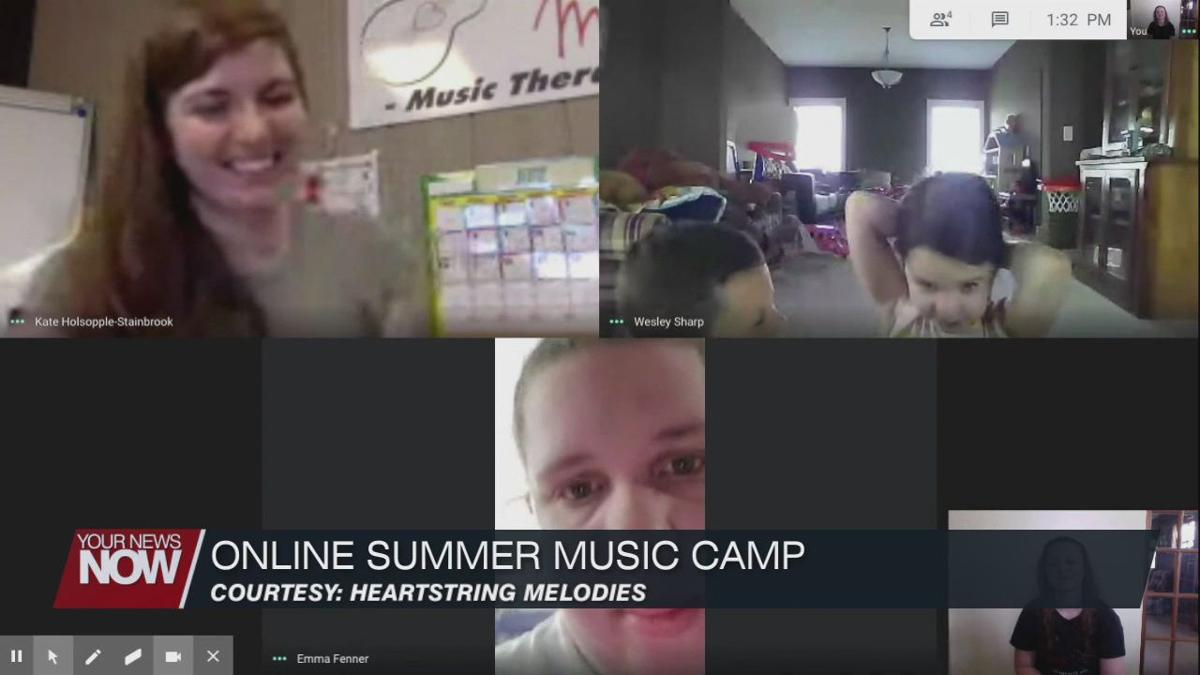 Music therapist taking their summer camp online to teach the power of music