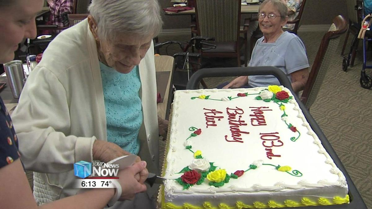 Two parties celebrating the lives of local centenarians 1.jpg