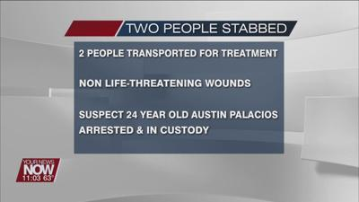 Hancock County Sheriff's Office investigating double stabbing