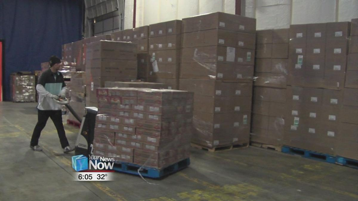 Fresh Encounter Inc. donates pallets of needed items to West Ohio Food Bank