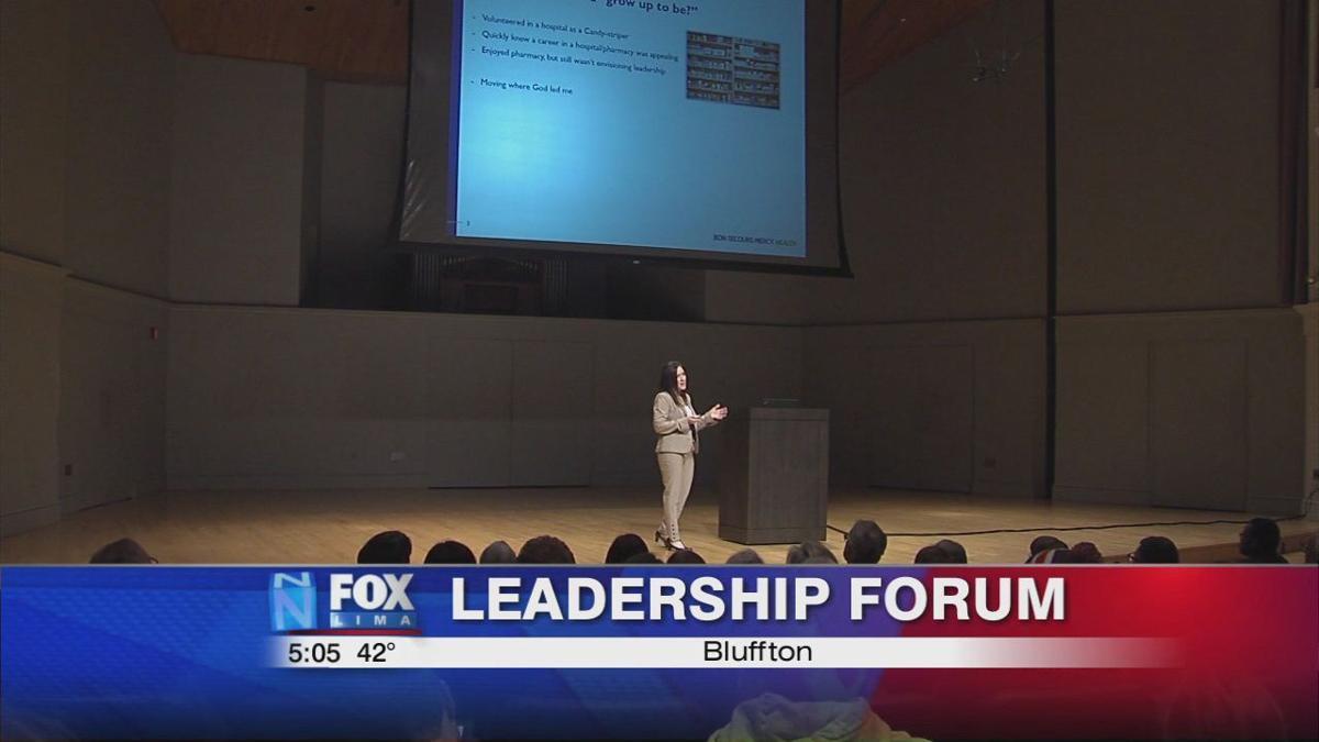 President of Mercy Health Lima speaks at Bluffton University
