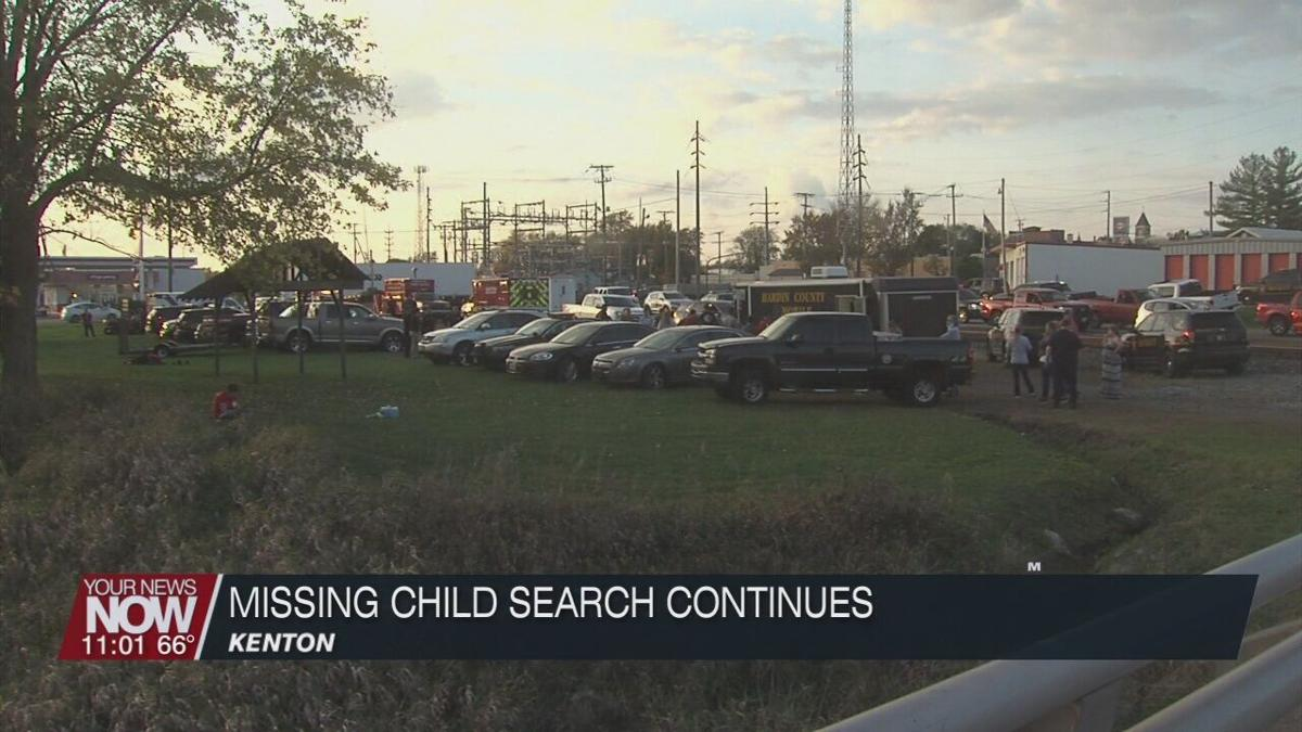 Search for missing boy continues in Kenton