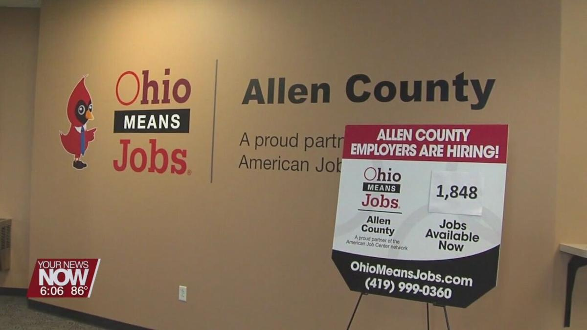Unemployment numbers are down and job opportunities are up