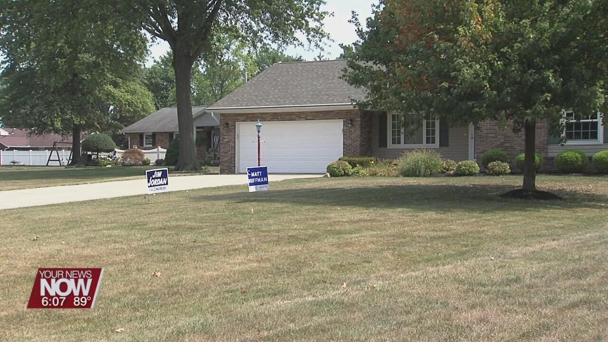 Elida Police Department receiving calls of stolen political signs