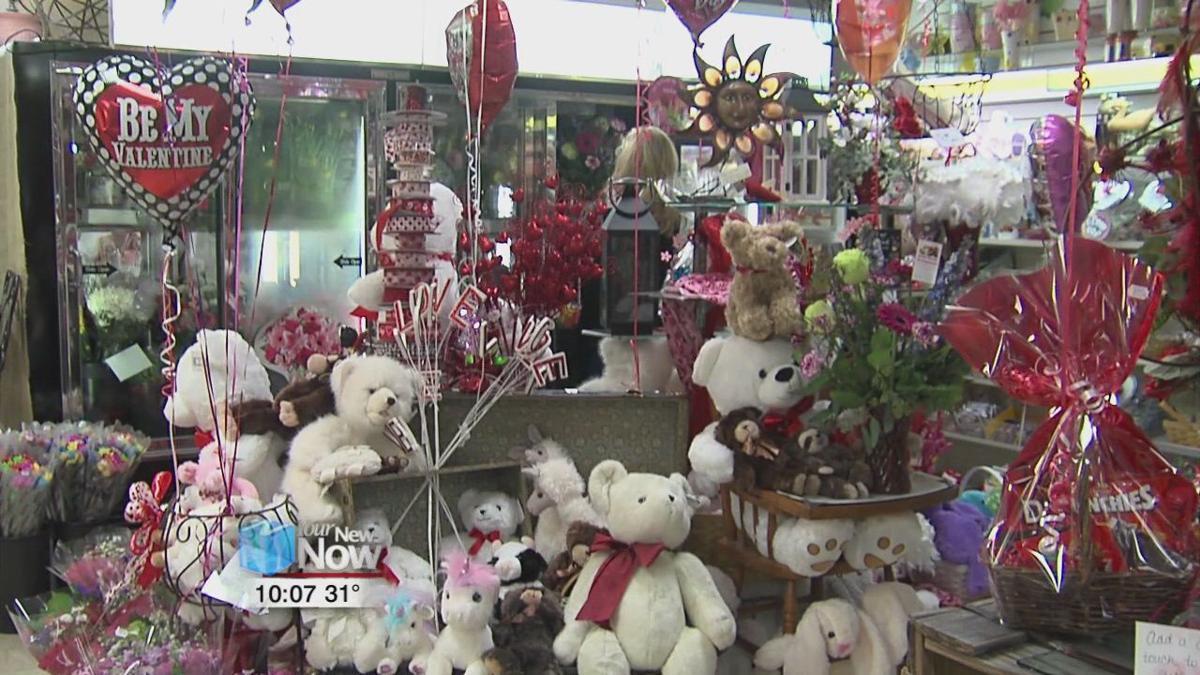 Area businesses prepare for Valentine's Day