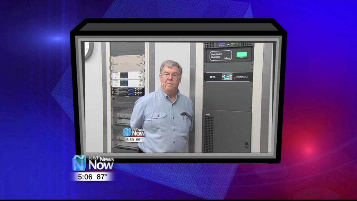 Flipping the switch on new WOHL transmitter 1.jpg