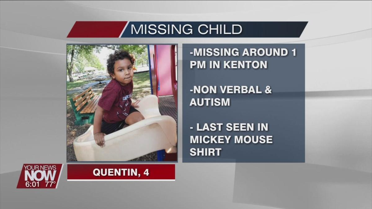Search underway for missing child in Kenton