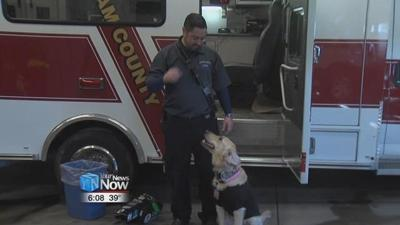 Service dog helps Putnam County Paramedic