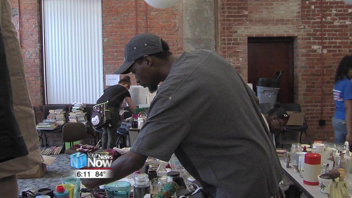 Allen County Children Services hold Un-Garage Sale Day 1.jpg
