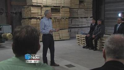 Senator Portman stops in Lima during tax reform tour