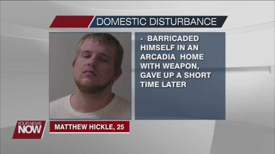 Hancock County man arrested after barricading himself in an Arcadia home