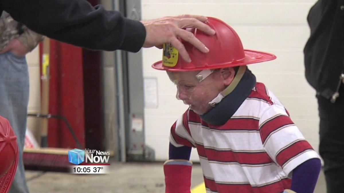 Lima Fire Department welcomes home Lima boy they rescued from fire 1.jpg
