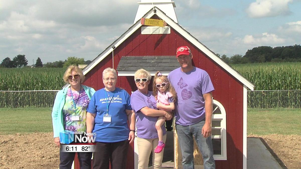 Make-A-Wish gives young girl her very own schoolhouse 1.jpg