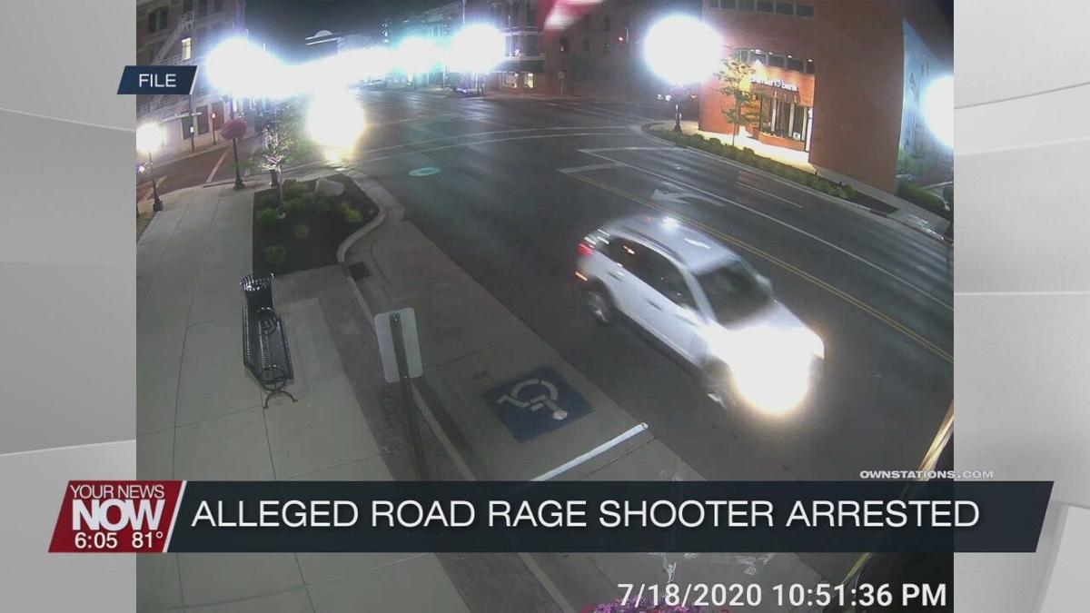 Alleged shooter arrested from Saturday's road rage incident