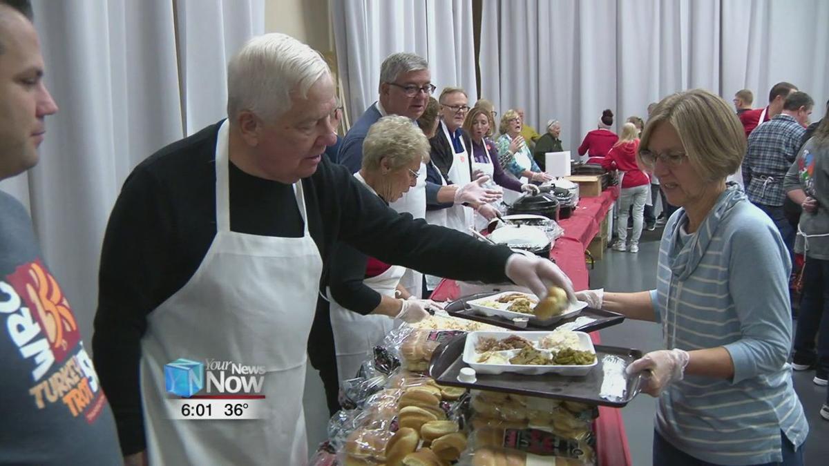 Lima community Thanksgiving dinner