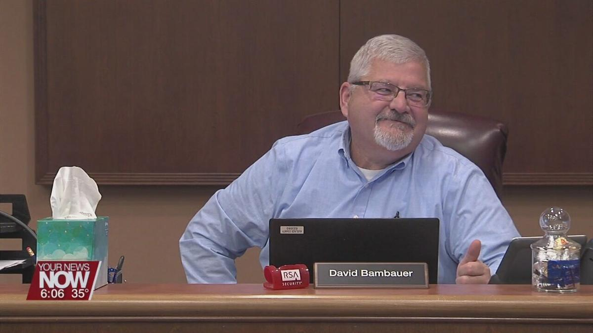 David Bambauer sworn in Auglaize County commissioner