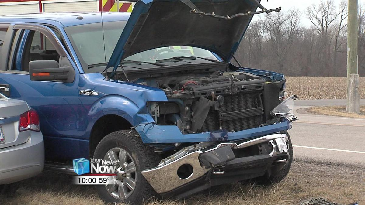 Passengers in hospital after two-car crash in Delphos 2.jpg