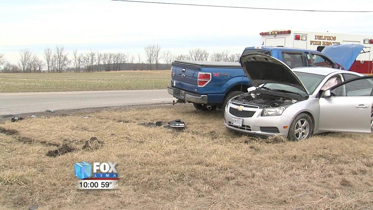 Passengers in hospital after two-car crash in Delphos 1.jpg
