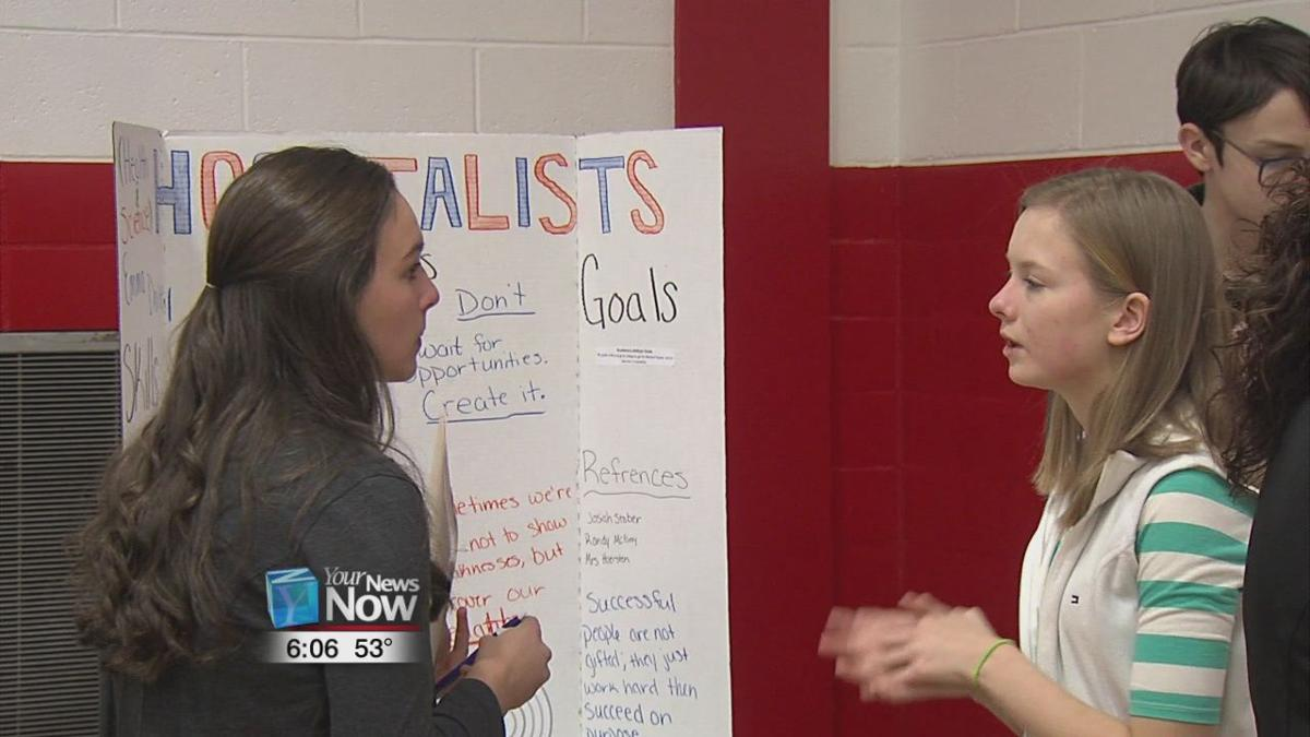 Freshman at Jefferson High School get a jump start on their careers