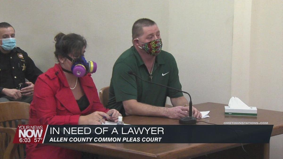 Arson suspect requests change in counsel from the court