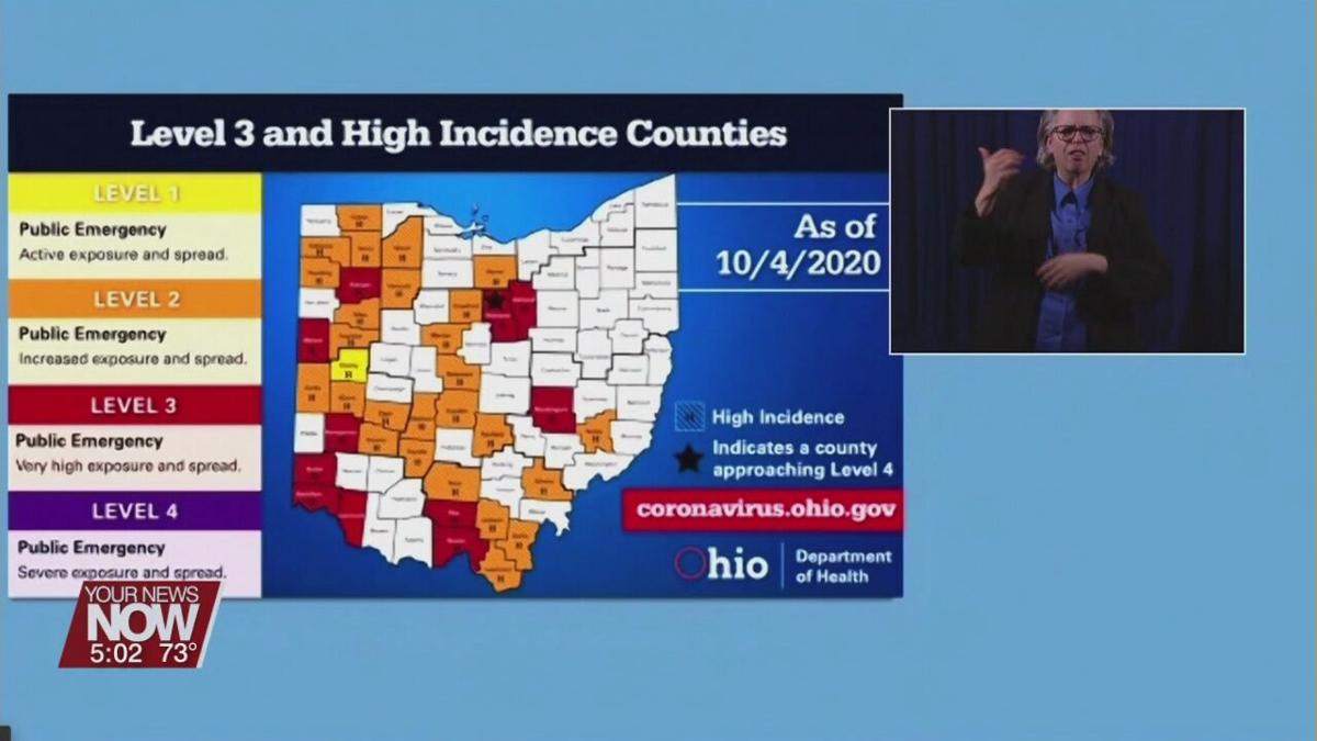 Gov. DeWine gives COVID update, notes hospitalization trends