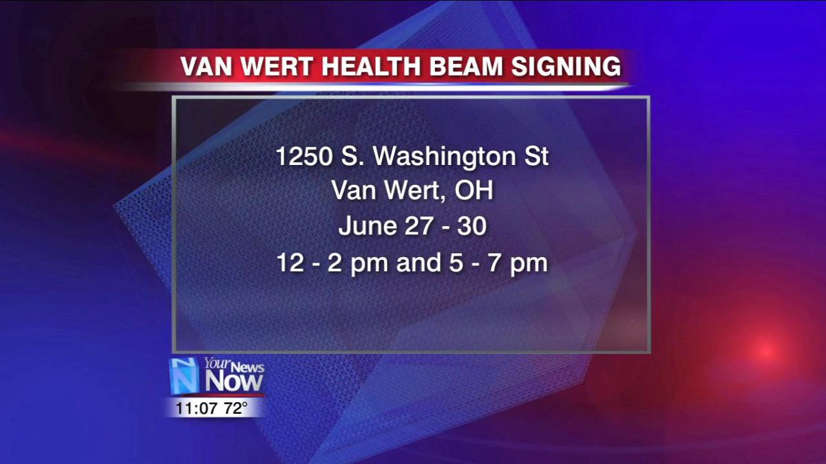 Van Wert Health encourages community to sign beam for expansion 2.jpg