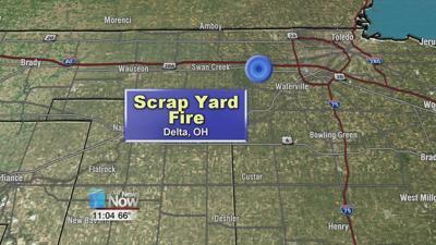 Fifteen fire departments battle scrapyard fire in Delta 1.jpg