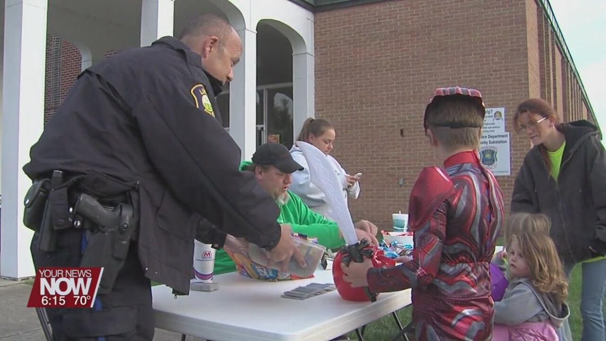 Lima Police Department holding Trick-or-Treat candy pickup