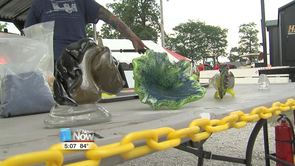 Glass blowers creating art at the Auglaize County Fair 1.jpg