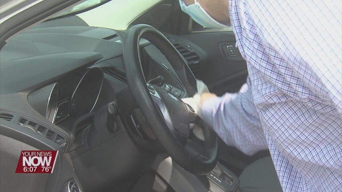 Cleaning you car helps prevent coronavirus