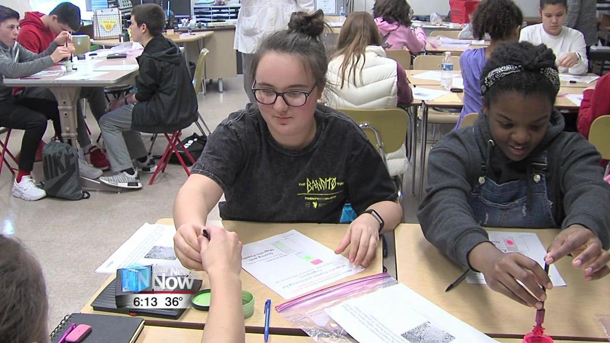 Shawnee Middle School students do some hands-on STEM