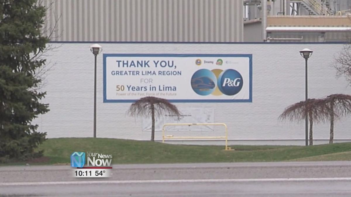 P&G making hand sanitizer at Lima Plant