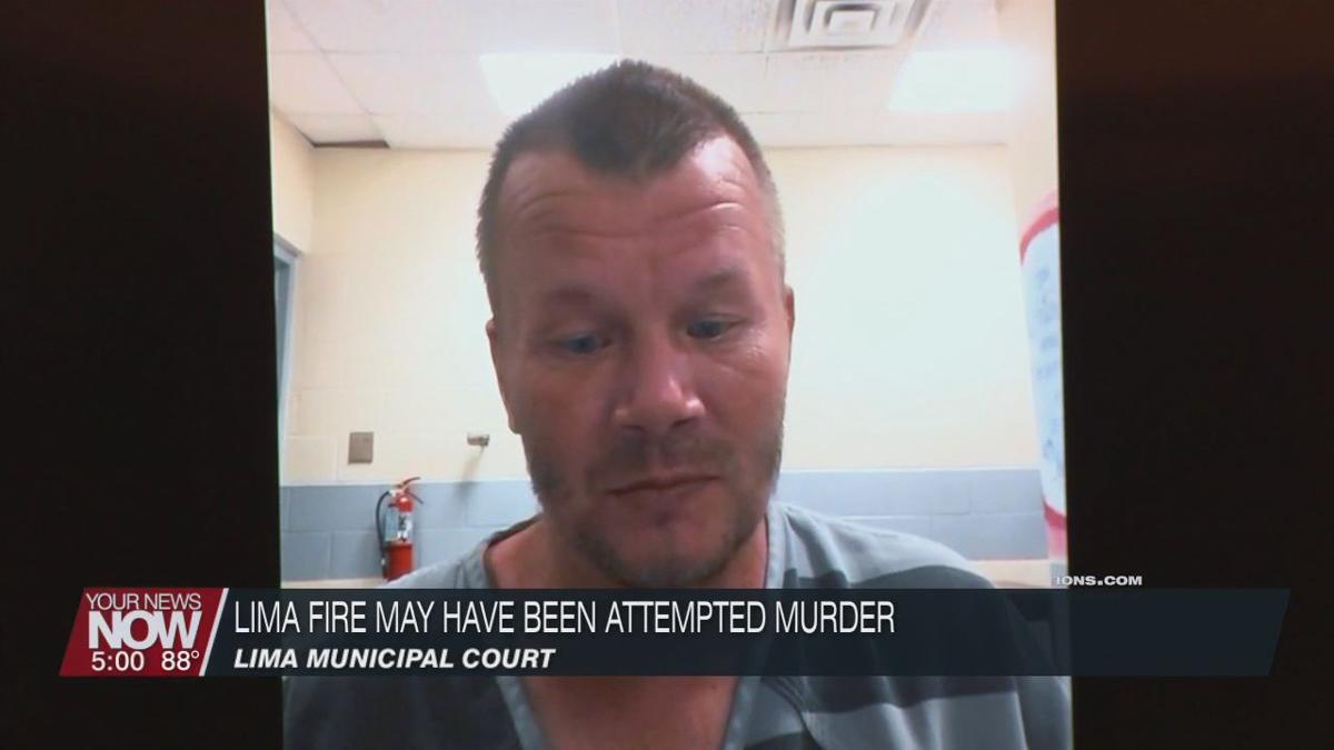 Man who allegedly started downtown Lima fire may have been trying to kill others