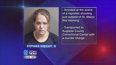 Auglaize County woman being held with a murder charge
