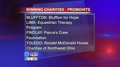 PromoHits! of Bluffton donating a portion of profit to four area charities 1.jpg
