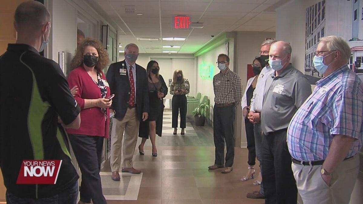 Lima Memorial reveals Nutrien inpatient rooms