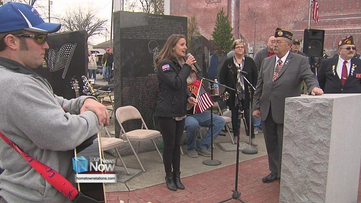 Hancock County celebrate Veterans Day with annual parade