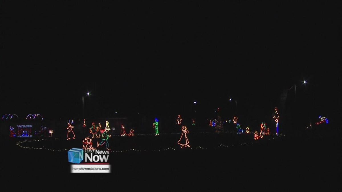 Drive-thru Holiday Light Show in Van Wert