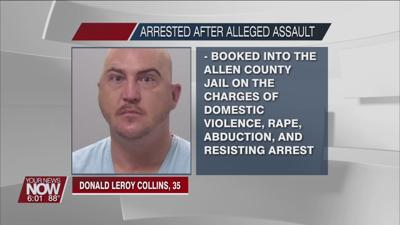 Allen County man charged with rape and abduction