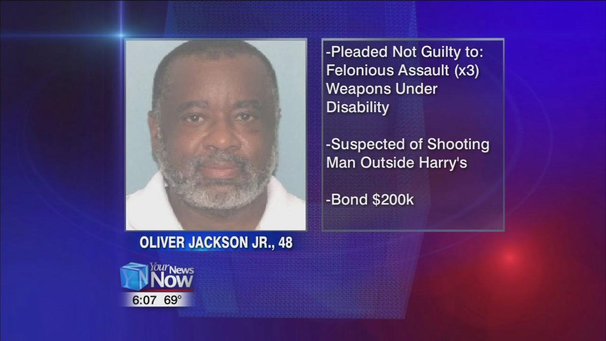 Man suspected of Harry's shooting pleads not guilty