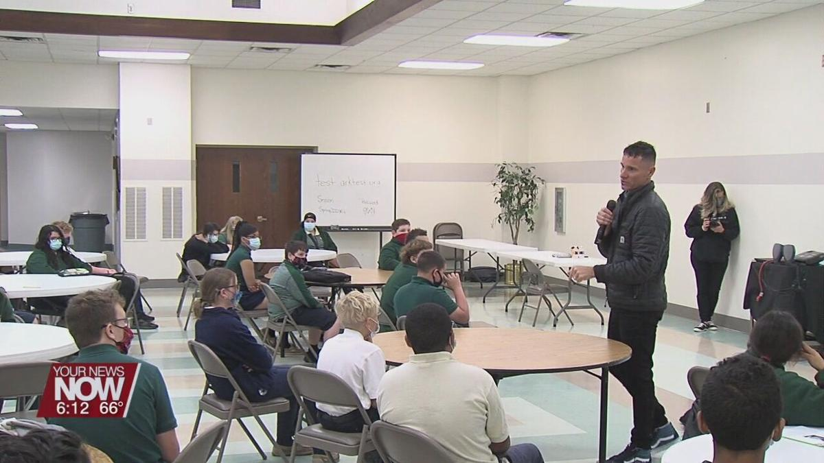 Positive Addiction Week speaker talks about making the right choices