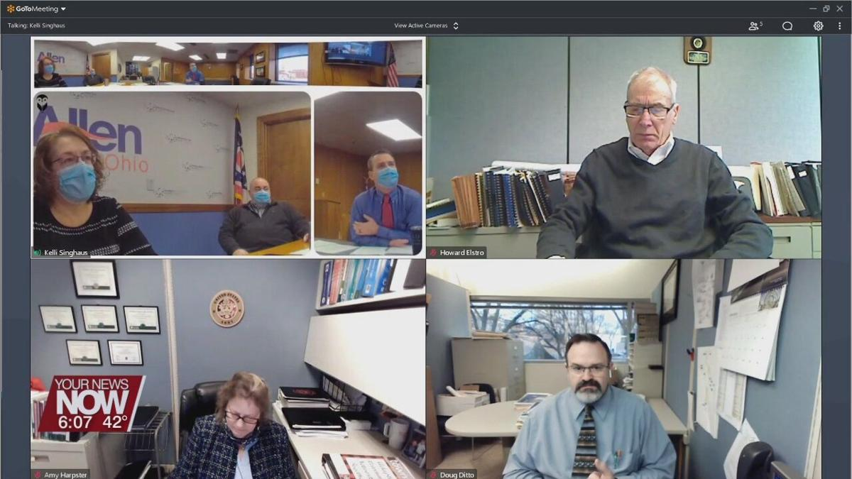 Allen County Commissioners enter into contract with the Allen County Building Department