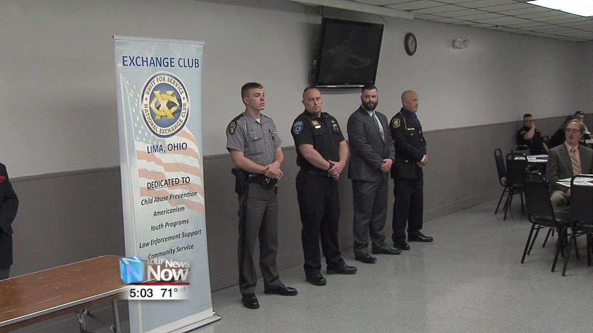 LPD's Eric Mericle receives Lima Exchange Club's Law Officer of the Year award 2.jpg