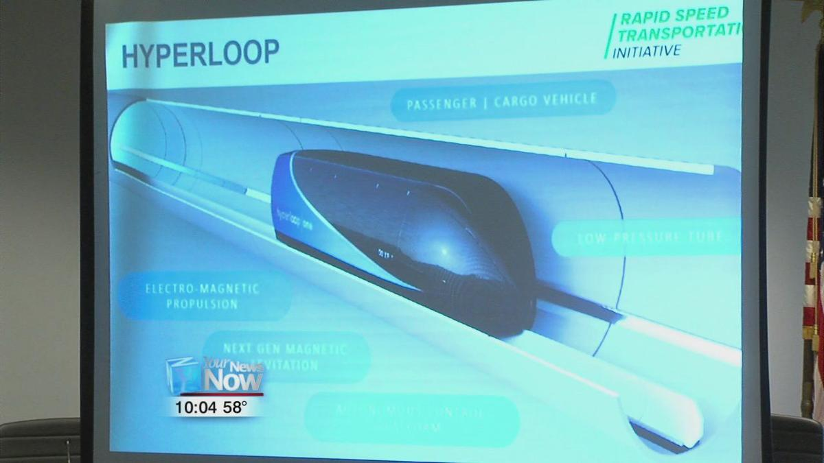 Mid-Ohio Regional Planning Commission share plans for Hyperloop and passenger rail in Lima