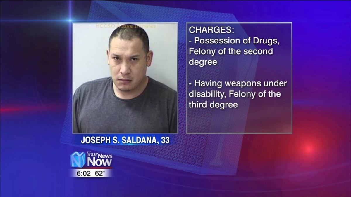 Ottawa man arrested on drug, gun charges following morning pursuit.jpg