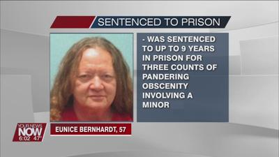 Van Wert County woman sentenced to prison for child pornography