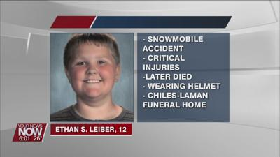 Early morning snowmobile accident kills child