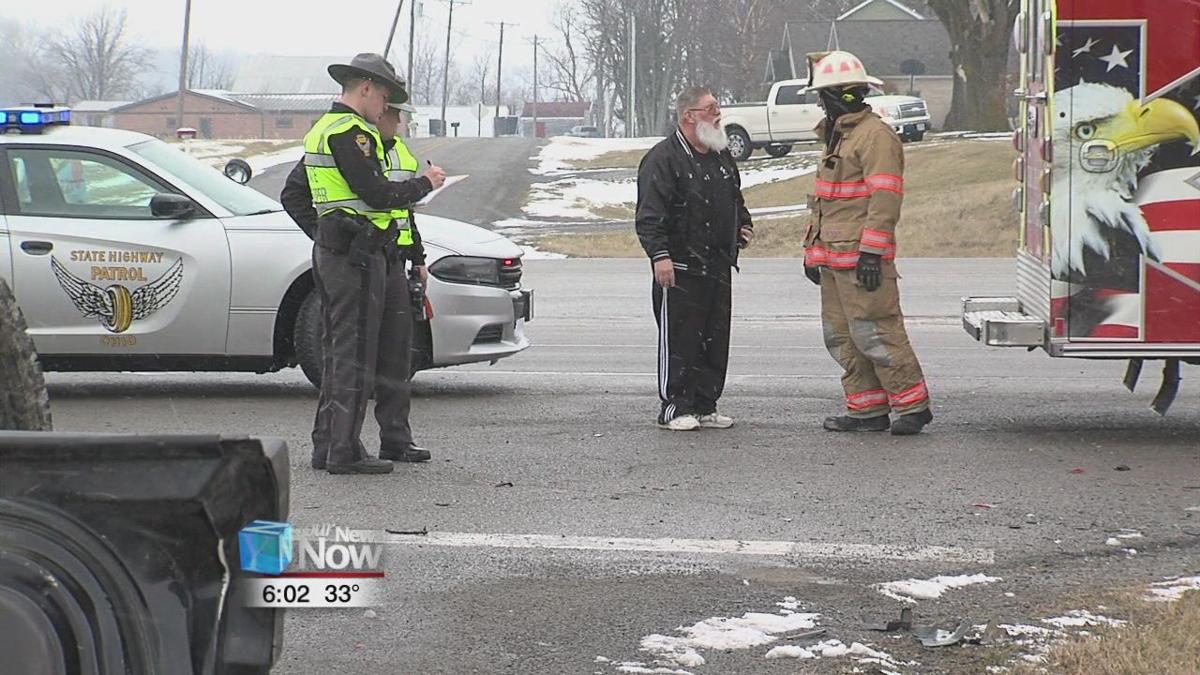 Two men hospitalized after car accident at intersection of US-30 and Defiance Trail