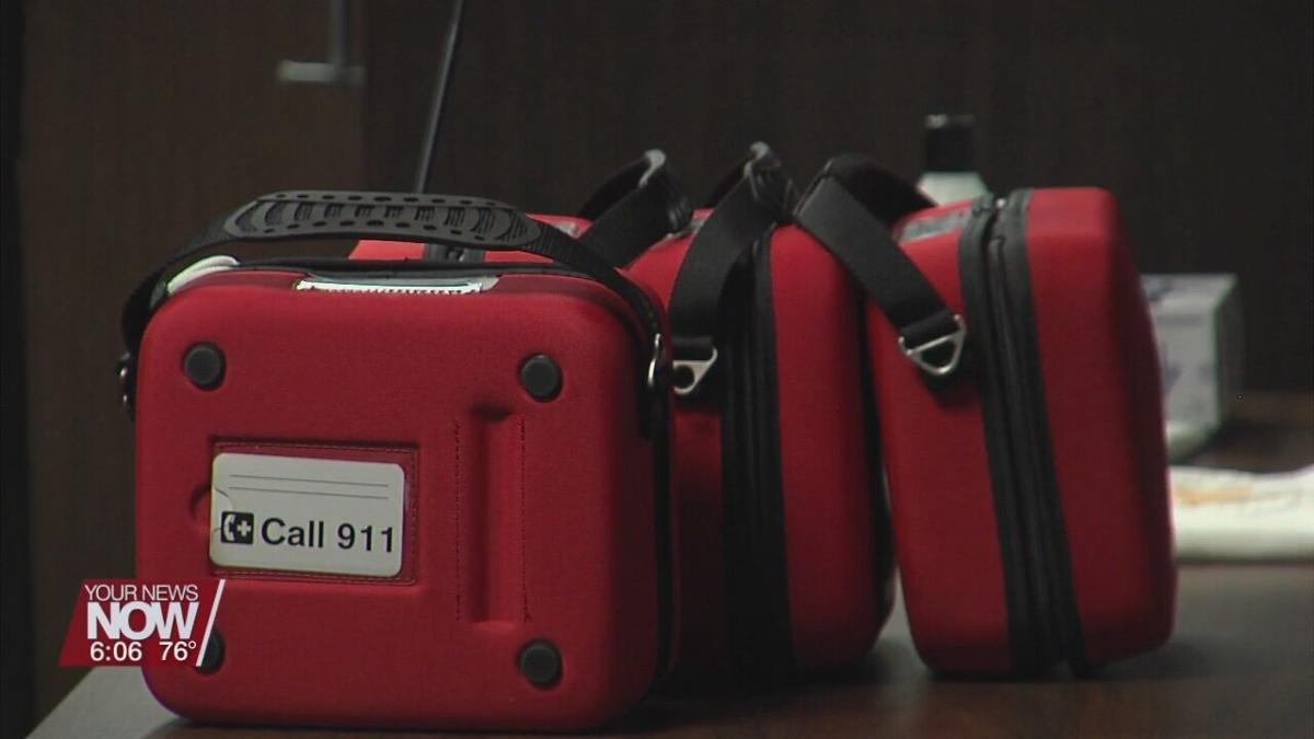 Mercy Health St. Rita's donating AEDs to Lima Police Department